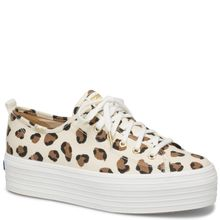 Zapatilla Triple Up Leopard Lona